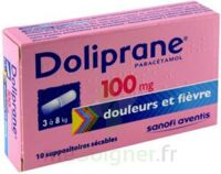 DOLIPRANE 100 mg Suppositoires sécables 2Plq/5 (10) à ANNECY