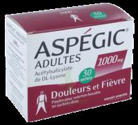 ASPEGIC ADULTES 1000 mg, poudre pour solution buvable en sachet-dose 30 à ANNECY