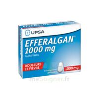 Efferalgan 1000 mg Comprimés pelliculés Plq/8 à ANNECY