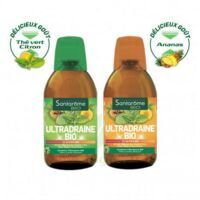 Ultradraine Bio Solution buvable Thé vert citron Fl/500ml à ANNECY