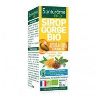 Santarome Bio Sirop gorge Fl/125ml à ANNECY