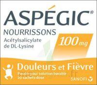 ASPEGIC NOURRISSONS 100 mg, poudre pour solution buvable en sachet-dose à ANNECY