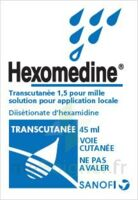 HEXOMEDINE TRANSCUTANEE 1,5 POUR MILLE, solution pour application locale à ANNECY