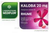 KALOBA 20 mg Comprimé pelliculé Plq/21 à ANNECY