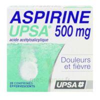ASPIRINE UPSA 500 mg, comprimé effervescent à ANNECY