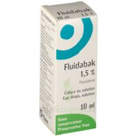 FLUIDABAK 1,5 %, collyre en solution à ANNECY
