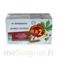 Arkofluide Bio Ultraextract Solution buvable jambes légères 2B/20 Ampoules/10ml à ANNECY