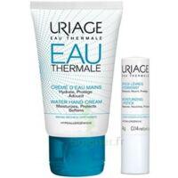 Uriage Eau Thermale Crème d'eau mains T/30ml+Stick lèvres à ANNECY