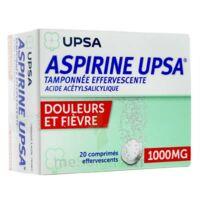 ASPIRINE UPSA TAMPONNEE EFFERVESCENTE 1000 mg, comprimé effervescent à ANNECY