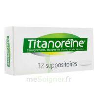 TITANOREINE Suppositoires B/12 à ANNECY