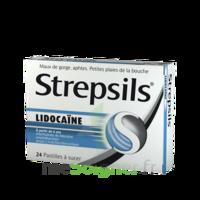 Strepsils lidocaïne Pastilles Plq/24 à ANNECY