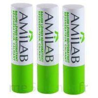 Amilab Baume labial réhydratant et calmant lot de 3 à ANNECY