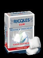 Ricqles Gum Chew gum dragée sans sucre blancheur hygiène B/24g à ANNECY