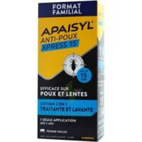 Apaisyl Anti-poux Xpress 15' Lotion antipoux et lente 100ml+peigne à ANNECY