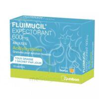FLUIMUCIL EXPECTORANT ACETYLCYSTEINE 600 mg Glé s buv adultes 10Sach à ANNECY