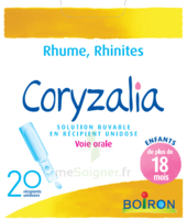 Boiron Coryzalia Solution buvable unidose B/20 à ANNECY