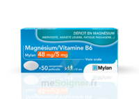 MAGNESIUM/VITAMINE B6 MYLAN 48 mg/5 mg, comprimé pelliculé à ANNECY